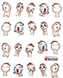 Ggsell Yao Shun 2012 Latest Nail Stickers Water Transfer Decals Cartoon Baby