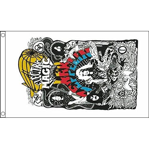BANDIERA LED ZEPPELIN 150x90cm - BANDIERA DI LED ZEPPELIN - HARD ROCK 90 x 150 cm - AZ FLAG