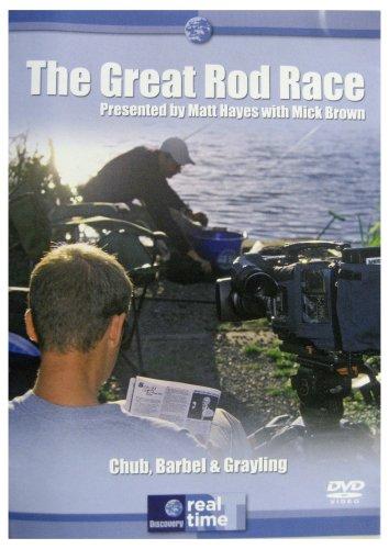 Matt Hayes - The Great Rod Race - Chub, Barbel & Grayling [DVD]