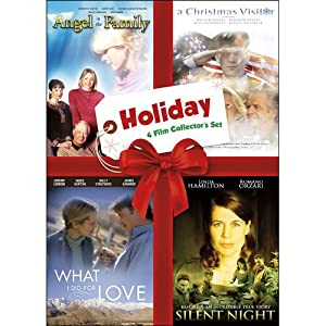Holiday Four-film Collectors Set Volume One Angel In The Family A Christmas Visitor What I Did For Love Silent Night from Echo Bridge Home Entertainment