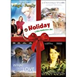 Holiday Four-Film Collector's Set: Volume One (Angel in the Family / A Christmas Visitor / What I Did for Love / Silent Night) ~ Meredith Baxter