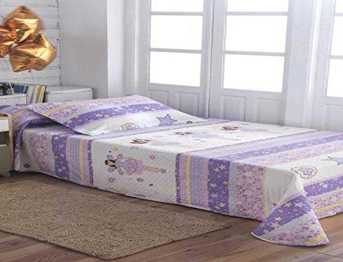 Colcha Bouti 9436 para cama de 105 cm.