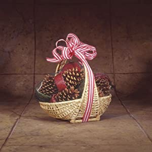 Chimney 47138 Cone Starter Willow Basket With 12 Pine Cone Fire Starters