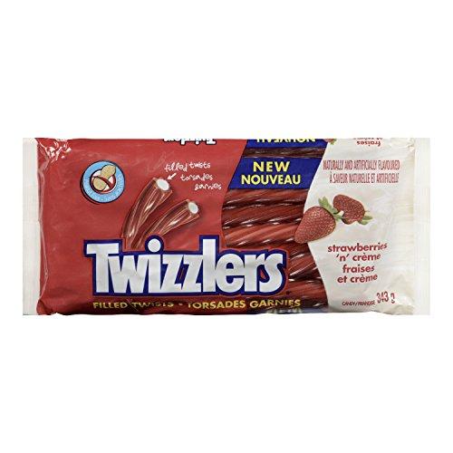 Twizzlers Strawberries N' Crème Licorice, 343 Gram