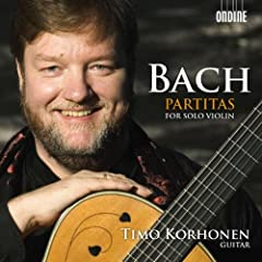 Bach: Partitas for Solo Violin