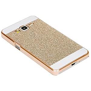 Shiney back cover for samsung galaxy a5 2016 Gold