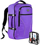 Cabin Max Palermo Carry-on luggage Cabin bag Detachable includes Toiletry Bag 55x40x20cm