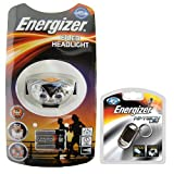 Energizer ADVANCED 6 LED HEADLIGHT supplied with Energizer LED Keyring Torch