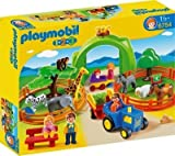 Superb Playmobil 123 6754 Large Zoo --