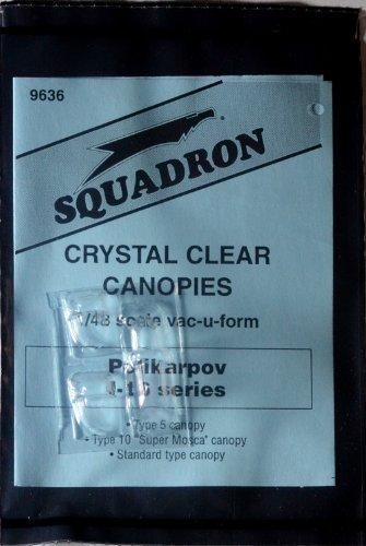 Squadron Products Polikarpov I-16 Vacuform Canopy