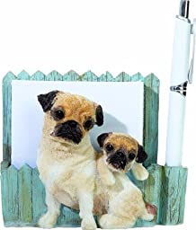 E&S Pets- 46480-25 3D magnetic  Newfoundland pet note holder. Makes the perfect pet gift for  Newfoundland lovers. Uniquely hand-crafted for your home or office.