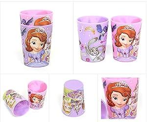 Disney Little Princess Sofia Children Kid Plastic Cup 2pcs 042028