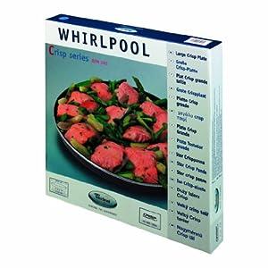 whirlpool avm305 piatto crisp grande per forno a microonde casa e cucina. Black Bedroom Furniture Sets. Home Design Ideas