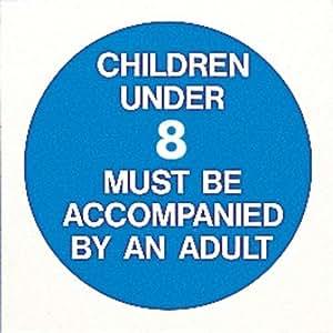 signs children under accompanied adult sign aspx