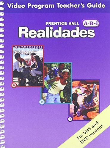 PRENTICE HALL SPANISH REALIDADES VIDEO PROGRAM DVD LEVEL A/B/1 FIRST    EDITION 2004C