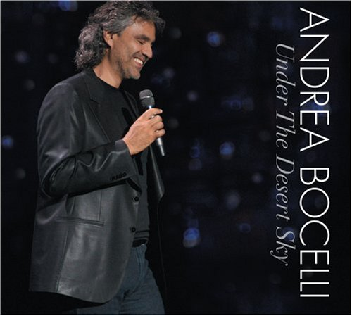 Andrea Bocelli - Andrea Bocelli: Under the Desert Sky [DVD Included] - Zortam Music