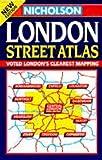 Nicholson London Street Atlas (0702835404) by Nicholson