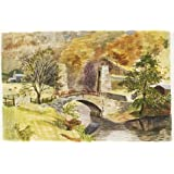 Bridge to Cox's Farm, Ashopton, by Kenneth Rowntree (V&A Custom Print)