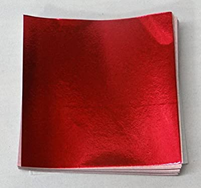 "500 4"" X 4"" Red Confectionery Foil Wrappers Candy Wrappers Candy Making Supplies"