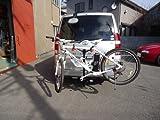 サイクルキャリア ヒッチ用 2台積み ヒッチメンバー 2インチ