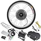 36V500W 26 Front Wheel Electric Bicycle Motor Kit E-Bike Cycling Hub Conversion
