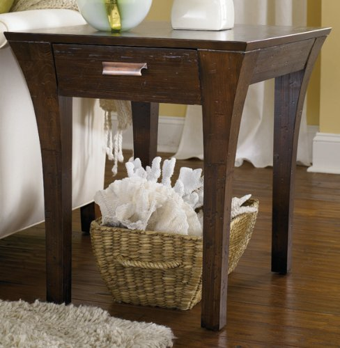 Cheap Urban Flair Rectangular Drawer End Table by Hammary – Umber (T2006621-00) (T2006621-00)