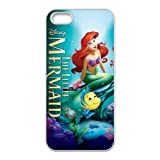 CreateDesigned The Little Mermaid Snap on Case Cover for Apple Iphone 5/5s TPU Case