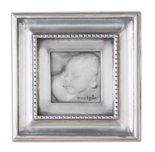 Mud Pie Antique Pewter Frame, 4 by 6-Inch