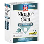 Rite Aid Pharmacy Stop Smoking Aid, 2 mg, Gum, Coated Mint, 100 pieces