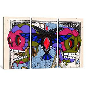 Amazon.com: iCanvasART 3 Piece Death Grips Canvas Print by Ric Stultz