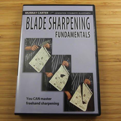 Blade Sharpening Fundamentals Dvd