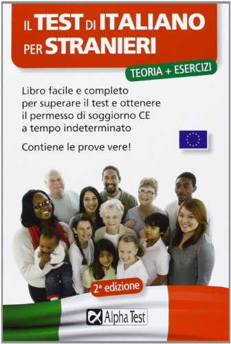 Libro dall 39 a1 all 39 a2 l 39 italiano di base per il permesso for Permesso di soggiorno per fratello di cittadino italiano