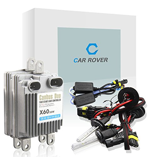 Car Rover 9006 HB4 55W HID Xenon Conversion Kit With No Error CanBus Technology Ballasts - 5000k - 3 Year Warranty (9006 Hid Kit Lifetime Warranty compare prices)