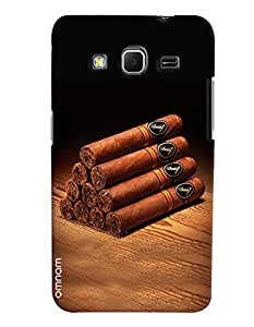 Omnam Bunch Of Cigars Printed Designer Back Cover Case For Samsung Galaxy Core Prime G360