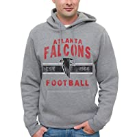 NFL Atlanta Falcons Team Arch Pullover Hoodie - Heathered Gray by Junk Food