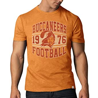 NFL Tampa Bay Buccaneers Retro Logo Legacy Scrum Tee by