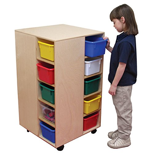 "Wood Designs WD61409 Cubby Spinner without Trays, 37 x 22 x 22"" (H x W x D)"