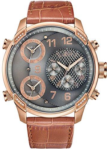JBW Reloj con movimiento cuarzo suizo Man G4 Marrón 52 mm