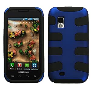 MyBat SAMI500HPCSK303NP Titanium Fishbone Case for Samsung Fascinate/Mesmerize i500 - 1 Pack - Retail Packaging - Dark Blue/Black