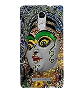 Vizagbeats Kali Matha Back Case Cover for XIAOMI REDMi NOTE 3