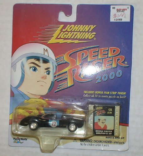 Johnny Lightning Speed Racer 2000 Mach 12 with filmstrip token - 1
