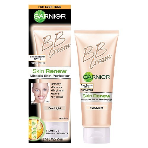 Garnier BB Cream Skin Renew, Light/Medium - 2.5 Oz, Pack of 3