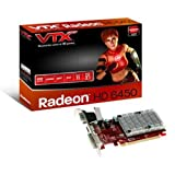 VTX3D AMD Radeon HD 6450 2Gb Silent Graphics Card (DDR3, DirectX 11.0 Support, HDMI, DVI-I, VGA, AMD HD3D Technology)