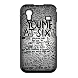 Teentopvogue Cell Phone Case You Me at Six Pop Punk Band Samsung S5830 Galaxy Ace Hard Case Cover at Amazon.com