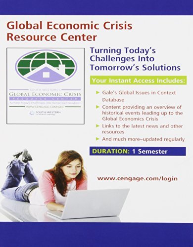 Global Economic Watch GEC Resource Center Printed Access...