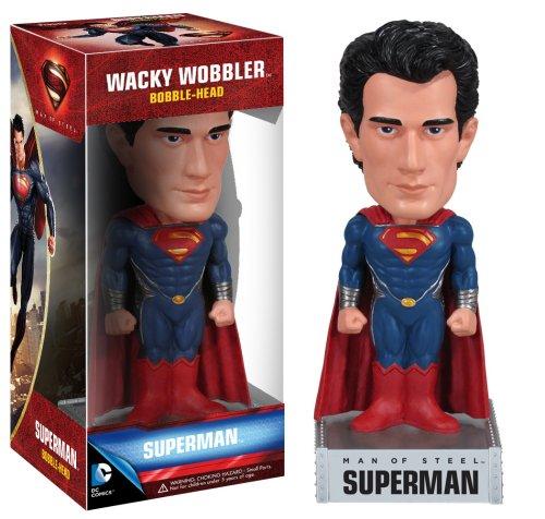 Funko DC Comics Man of Steel Movie: Superman Wacky Wobbler - 1