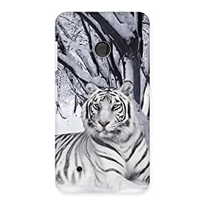 Stylish Snow Tiger Back Case Cover for Lumia 530