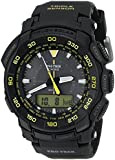 Casio Men's PRG-550-1A9 Pro Trek Tough Solar Black Dial  Watch