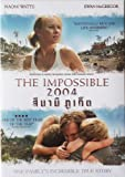 The Impossible (Region 3) Naomi Watts, Ewan McGregor