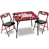 Disney Minnie Mouse Metal Table and Chair Set